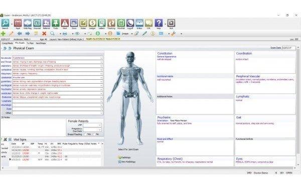 Orthopaedic EHR