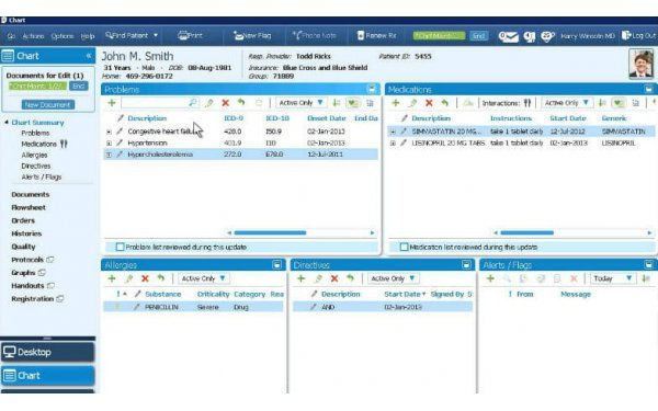 GE Healthcare EHR Software
