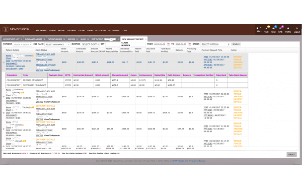 NovoClinical EHR Software