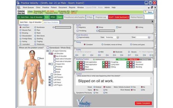 Practice Velocity EHR Software