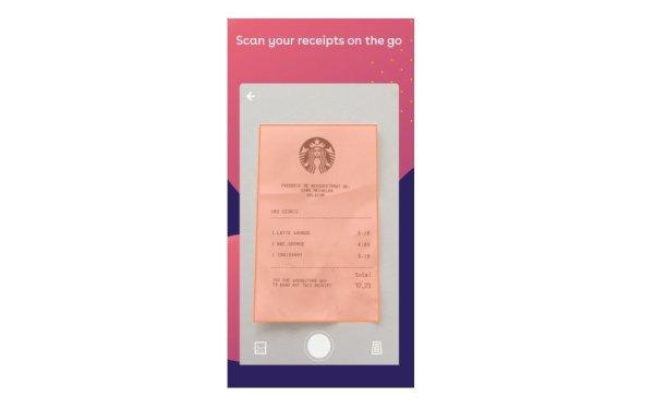 Scan receipts