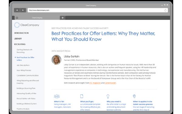 Best practices resources