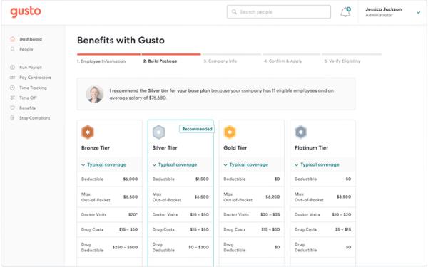 Select benefits plan