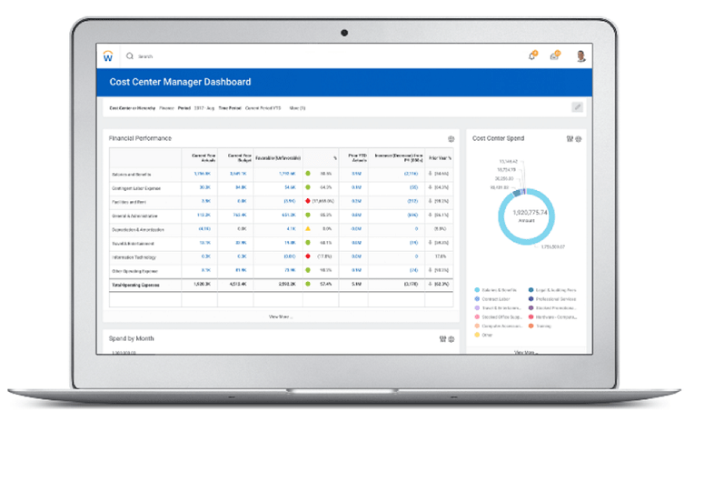Workday Enterprise Resource Planning (ERP) Tool