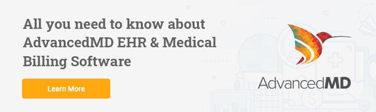 AdvancedMD EHR and Medical Billing software