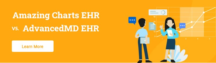 AmazingCharts vs AdvancedMD EHR software